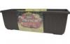 Samozavlažovací truhlík SIESTA LUX 100 cm - Čokoláda